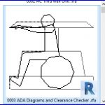 revit families | ADA Diagrams and Clearance Checker .rfa | 56 Several 3