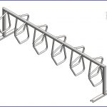 revit families | Dero Campus Rack .rfa | 56 Several 241