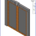 revit families | DOUBLE GLASS WITH ROWLOCK AND KEYSTONE OUTSWING .rfa | 56 Several 273
