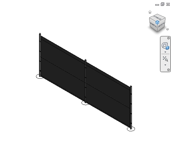 revit families | Fence Chainlink  rfa | 56 Several 314