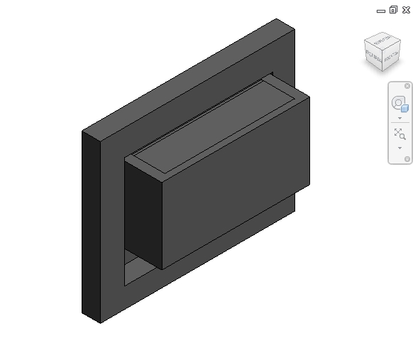 revit families | Gas Fireplace Insert Type Sized  rfa | 56
