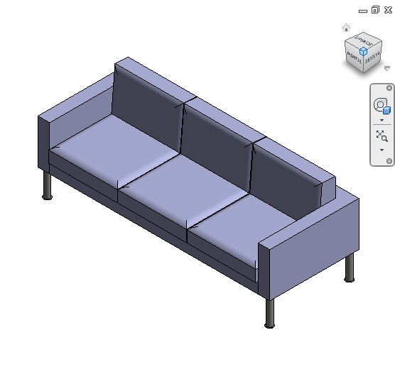 revit families | Sofa  rfa | 56 Several 778 - Architecture