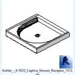 revit families | Kohler  K Captiva Shower Receptor model 2.rfa | 02 Bath 57