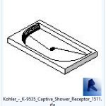 revit families | Kohler  K Captiva Shower Receptor model 4.rfa | 02 Bath 59
