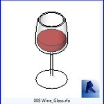 revit families | Wine Glass.rf | 03 Bar and Restaurant 8