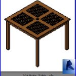 revit families | Patio Table .rf | 16 Tables 21