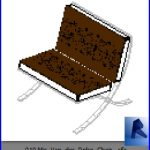 revit families | Mis Van der Rohe Chair .rf | 17 Pool Furniture 10