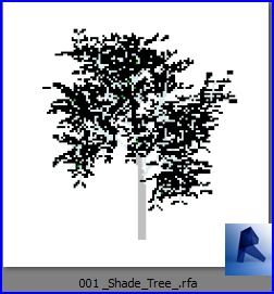 revit families | Shade Tree  rf | 22 Plants 1 - Architecture