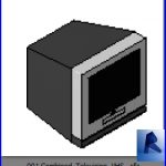 revit families | Combined Television VHS .rf | 26 Televisions 1