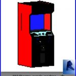 revit families | Shooter arcade machine ..rf | 30 Video Game 3