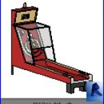 revit families | Skee Ball ..rf | 30 Video Game 4