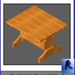 revit families | Adirondack Chair and Table .rf | 33 chairs 1