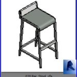 revit families | Bar Stool .rf | 33 chairs 20