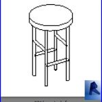 revit families | bar stool.rf | 33 chairs 21