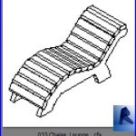revit families | Chaise Lounge .rf | 33 chairs 33