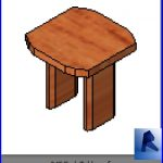revit families | End Table model 2.rfa | 33 chairs 45
