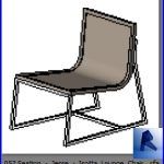 revit families | Seating  Jesse  Isotta Lounge Chair .rf | 33 chairs 53