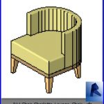 revit families | Chair Charlotte Lounge Chair .rf | 34 armchairs 11