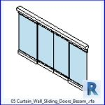 revit families | Curtain Wall Sliding Doors Besam .rf | 37 sliding doors 5